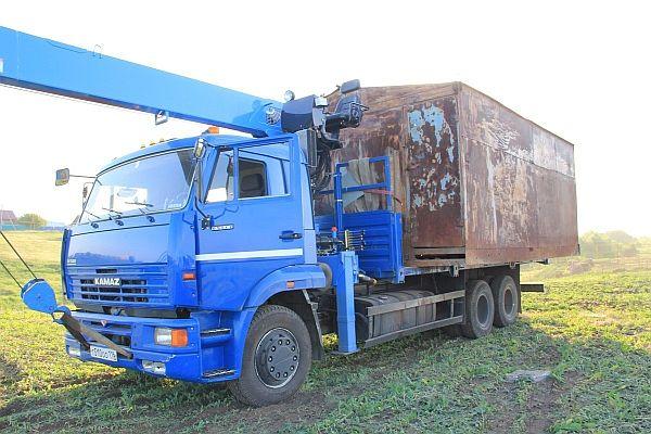 Для перемещения тяжелых крупногабаритных грузов – манипулятор незаменим