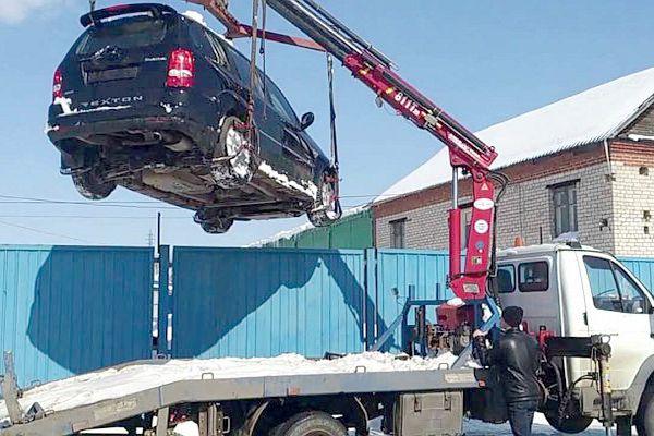 автомобиль можно без труда вытащить из труднодоступных мест